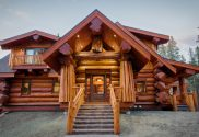 beautiful log homes