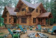 gorgeous log homes