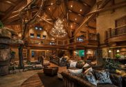 epic log home interiors