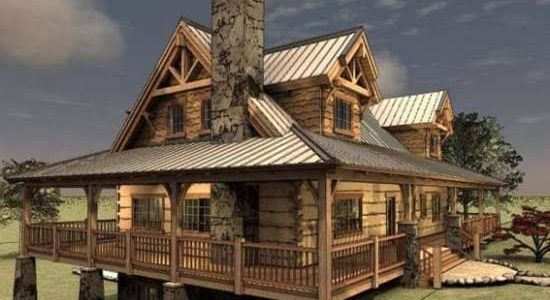 Before You Build Your Log Home - Learn How To Choose A Log Home ...